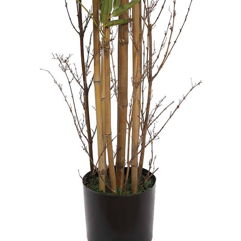 Jardineras Con Bambu. Perfect Lamparas Muebles Jardineras De Bambu Y ...
