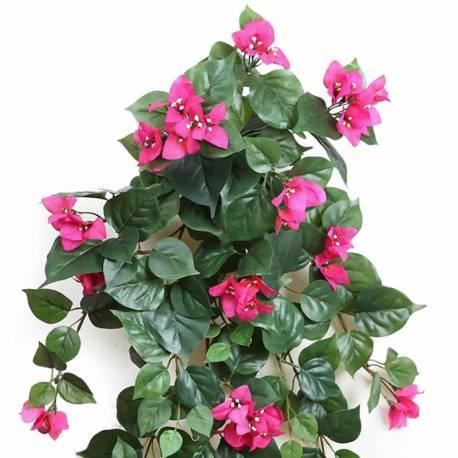 Planta bougainvillea artificial colgante pequeña