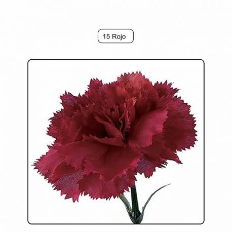 Flor clavel artificial 055