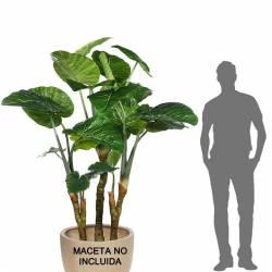 Planta alocasia artificial grande