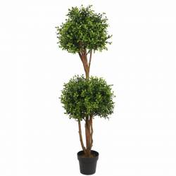 Arbre artificial doble bola boix