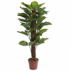 Planta pothos artificial amb tutor 100