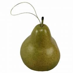 Fruta pera artificial con hilo