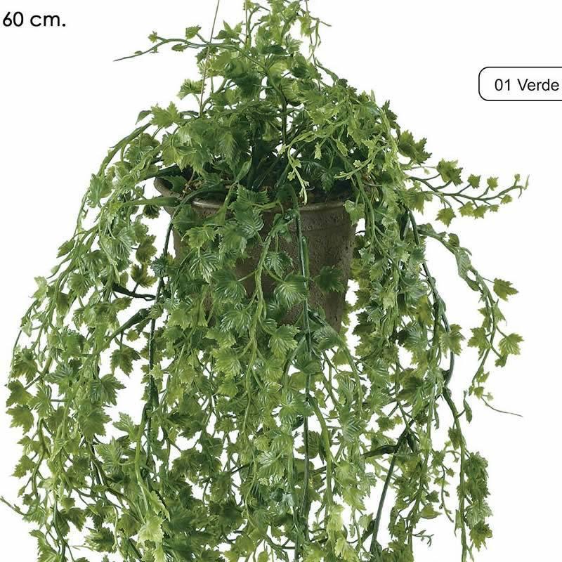 Planta artificial de plastico hiedra con maceta oasis decor - Plantas de plastico ikea ...