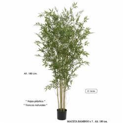 Arbol bambu de plastico