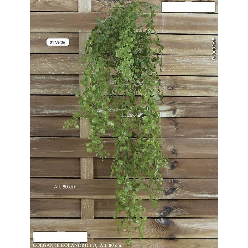 Planta colgante plastico colandrillo 080 oasis decor - Plantas de plastico ikea ...
