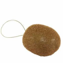 Fruta kiwi artificial con hilo