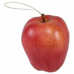 Fruta artificial manzana plastico con hilo