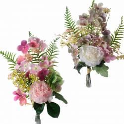 Ram flors artificials cementeri peonies
