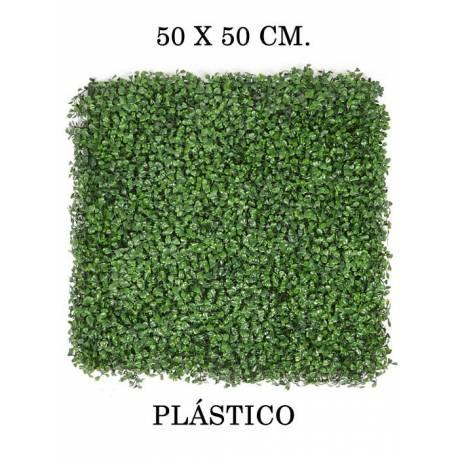 Placa de boj artificial 50x50