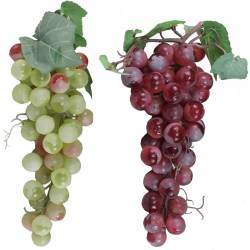 Racimo uvas artificiales moscatel grande