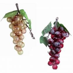 Racimo uvas artificiales moscatel pequeño