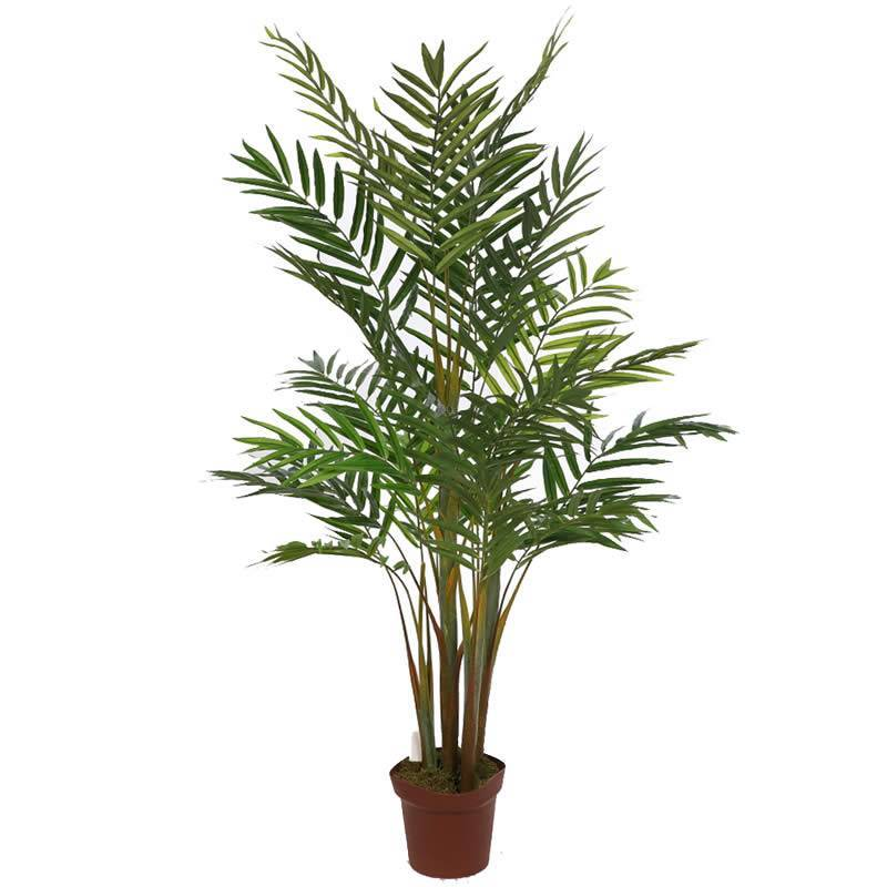 Palmera bambu artificial 155 oasis decor for Plantas de interior artificiales