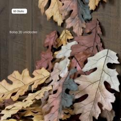 Bolsa 20 hojas de roble artificiales