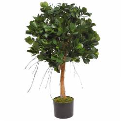 Ficus panda artificial con maceta