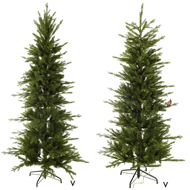 Arbol navidad artificial slim oasis decor for Plantas artificiales carrefour