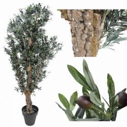 Olivera artificial amb olives 250