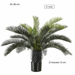 Palmera artificial cyca amb test 080
