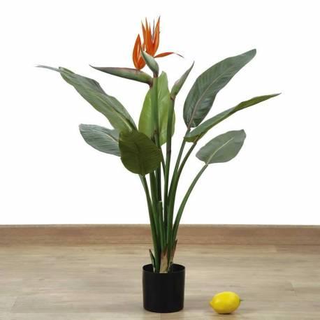 Planta artificial strelitzia
