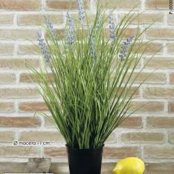 Planta artificial hierba lavanda