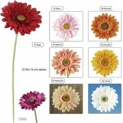 Flor gerbera artificial