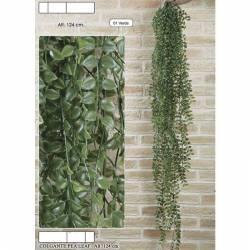 Planta plastic que penja pea leaf 124