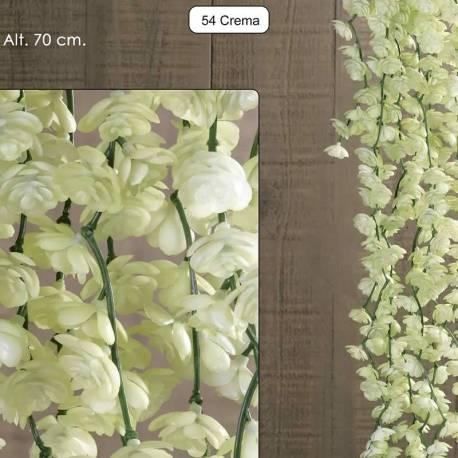 Planta colgante plastico succulenta