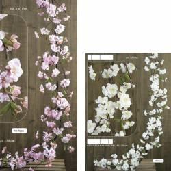 Guirnalda flores almendro artificial