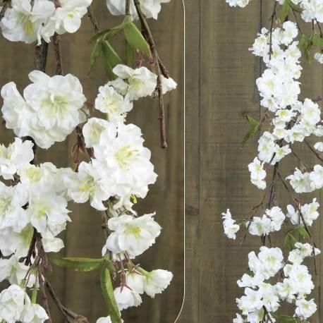 Garlanda flors ametler artificial