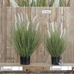 Planta artificial hierba onion