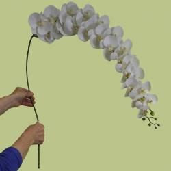 Orquidea artificial grande