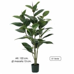 Planta artificial ficus elastica 122