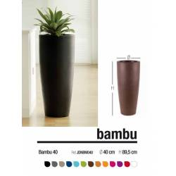 Test decoratiu exterior bambu