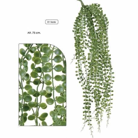 Planta artificial que penja vine de plastic 075