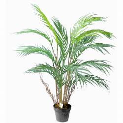 xicoteta palmera areca artificial amb test 080
