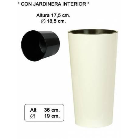 Macetero (cubremacetas) alto redondo 036