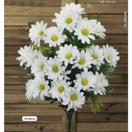 Ramo flores margaritas artificiales pequeño