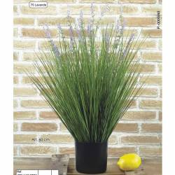 Planta artificial herba lavanda