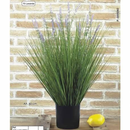 Planta artificial hierba lavanda 060