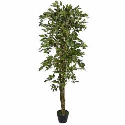 Planta ficus artificial verde 160