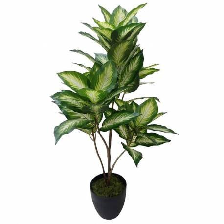 Planta artificial dieffenbachia amb test 075