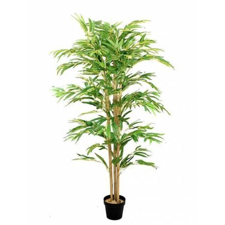 Bambu artificial con 5 cañas 155
