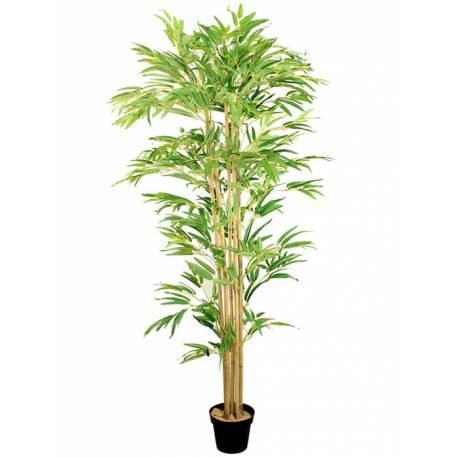 Bambu artificial con 6 cañas 180