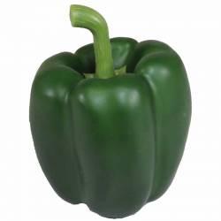 Pimento artificial verd de plastic