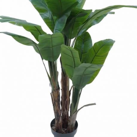 Bananero artificial tres troncos