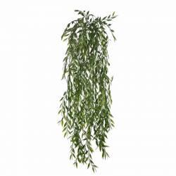 Planta artificial colgante bambu de plastico