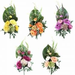 Ram flors artificials cementeri ranuncles