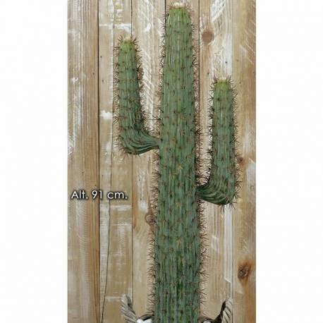 Cactus artificial pachycereus sin maceta