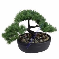 Bonsai artificial pino pequeño