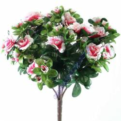 Planta azalea artificial pequeña sin maceta